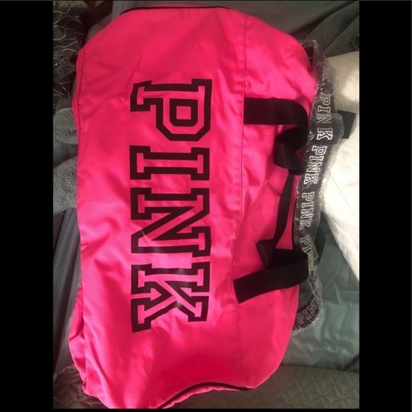 PINK Victoria's Secret Handbags - Victoria's Secret Pink duffle bag